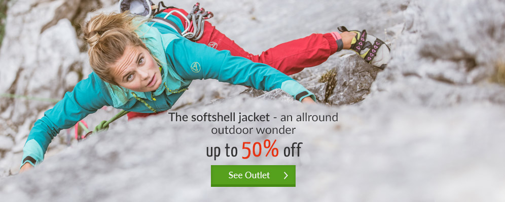 The softshell jacket - an allround outdoor wonder - Up to 50% off