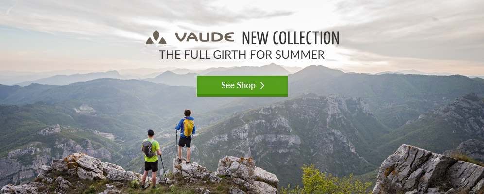 Vaude New Collection - the full girth for summer