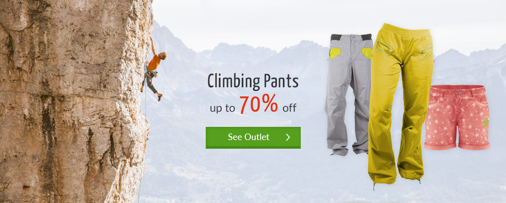 Climbing Pants - up to 70% off