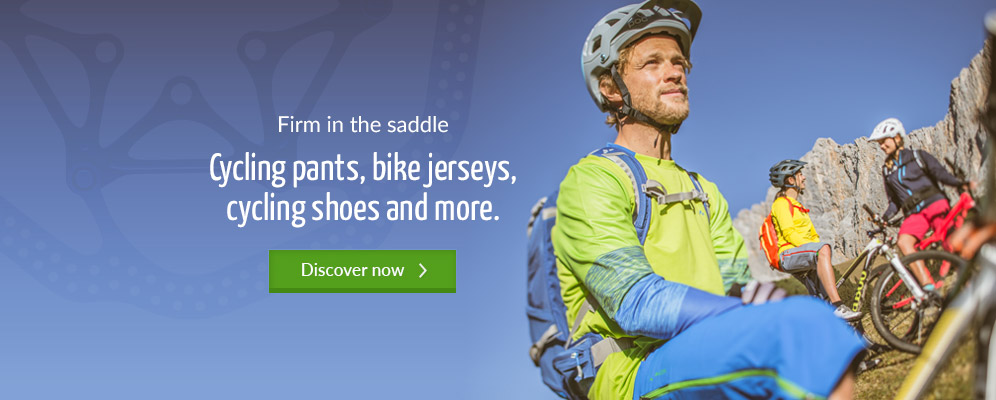 Firm in the saddle - Cycling pants, bike jerseys, cycling shoes and more