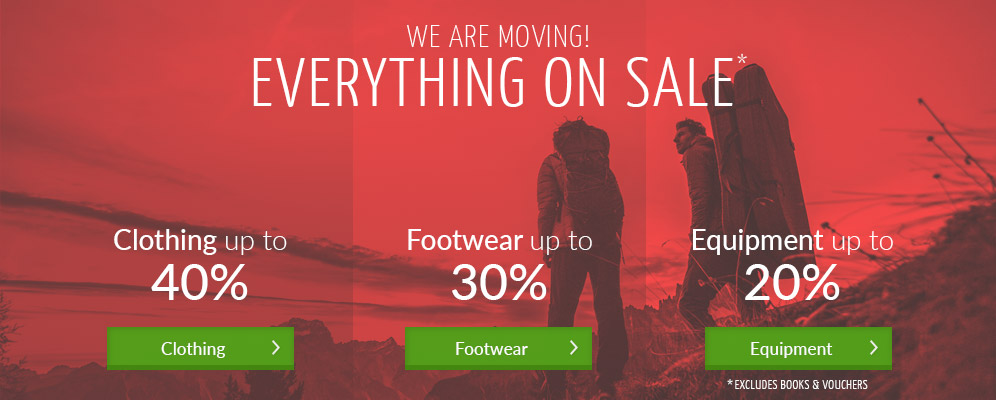 WE ARE MOVING! Everything on sale - clothing up to 40% off