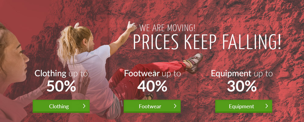 WE ARE MOVING! Everything on sale - clothing up to 50% off