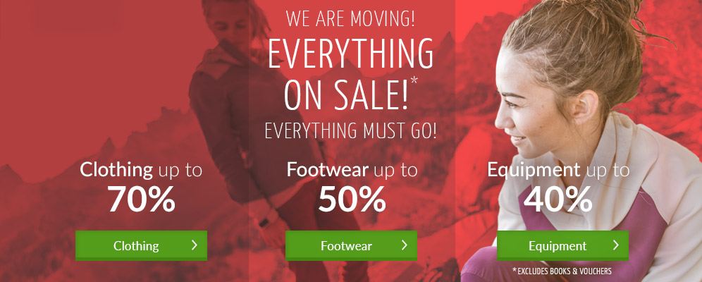 WE ARE MOVING! Everything on sale - clothing up to 70% off