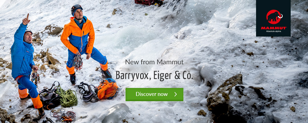 Mammut New Arrivals Winter 17/18