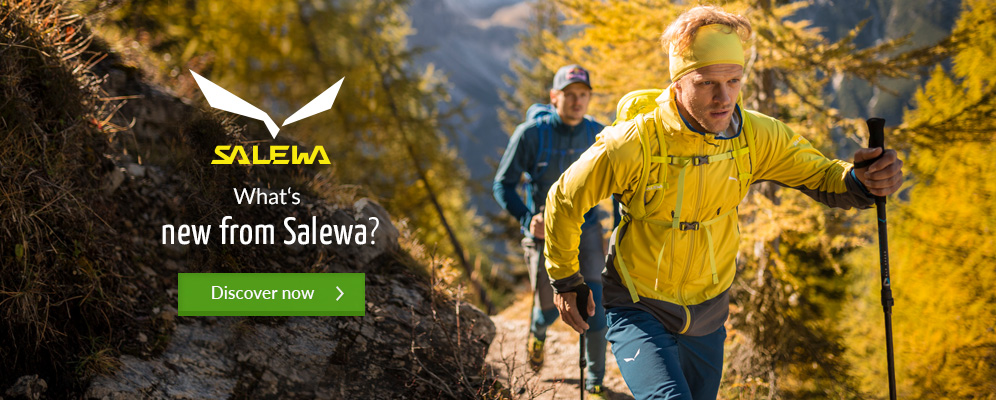 Salewa New Arrivals Winter 17/18