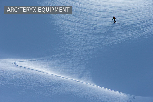 Arcteryx Equipment at Bergzeit