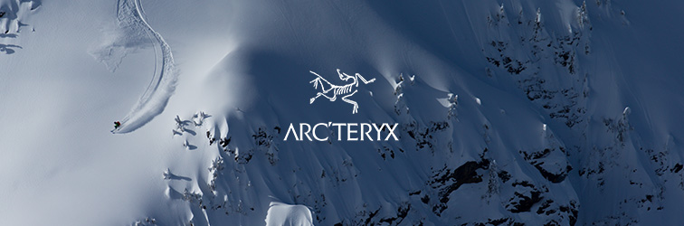 Arcteryx in the Bergzeit shop