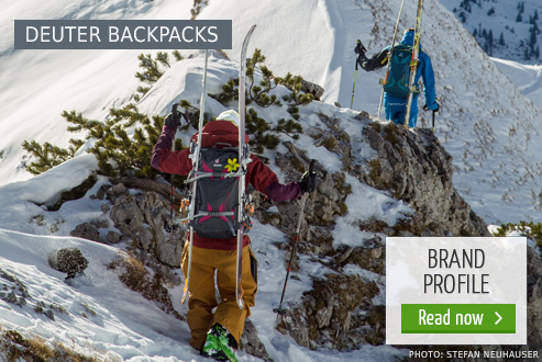 Deuter backpacks at Bergzeit