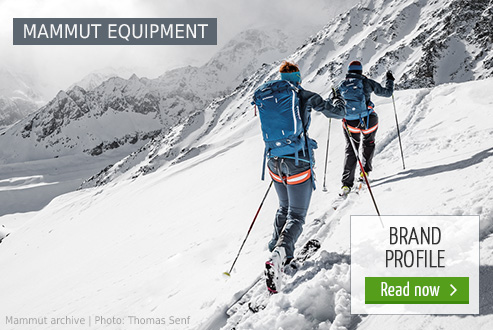 Mammut Equipment at Bergzeit
