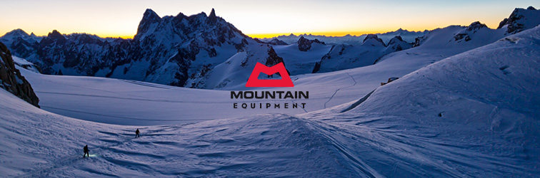 Mountain Equipment in the Bergzeit shop