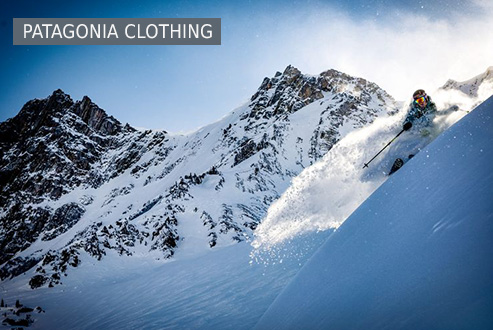 Patagonia clothing at Bergzeit