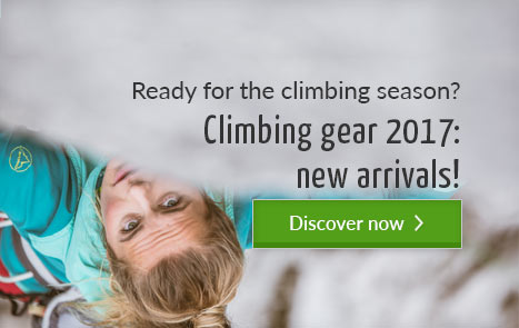 Ready for the climbing season - Climbing gear 2017: New arrivals!