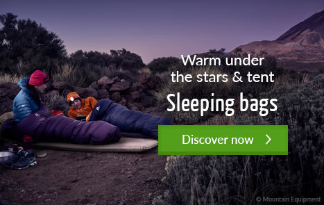 Warm under the stars & tent - Sleeping bags