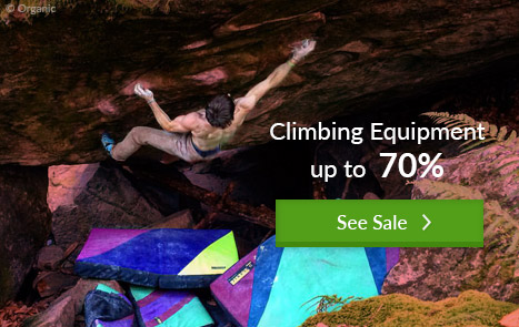 Climbing Equipment Sale at Bergzeit Shop